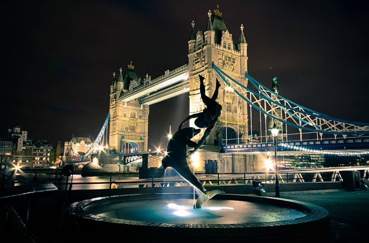Tower Bridge Londra İngiltere