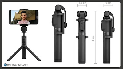 Xiaomi Mi Selfie Stick Tripod Launched In India With Bluetooth Remote With A Price Tag Of Rs.1,099