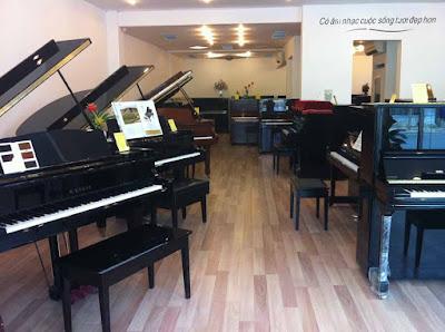 Cửa hàng bán đàn piano cũ ở Tphcm