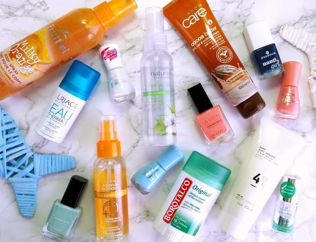 Summer Essentials (Skincare, Nails)