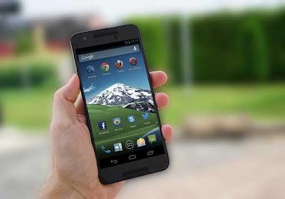 Smartphone HP Android Lemot Bin Lelet