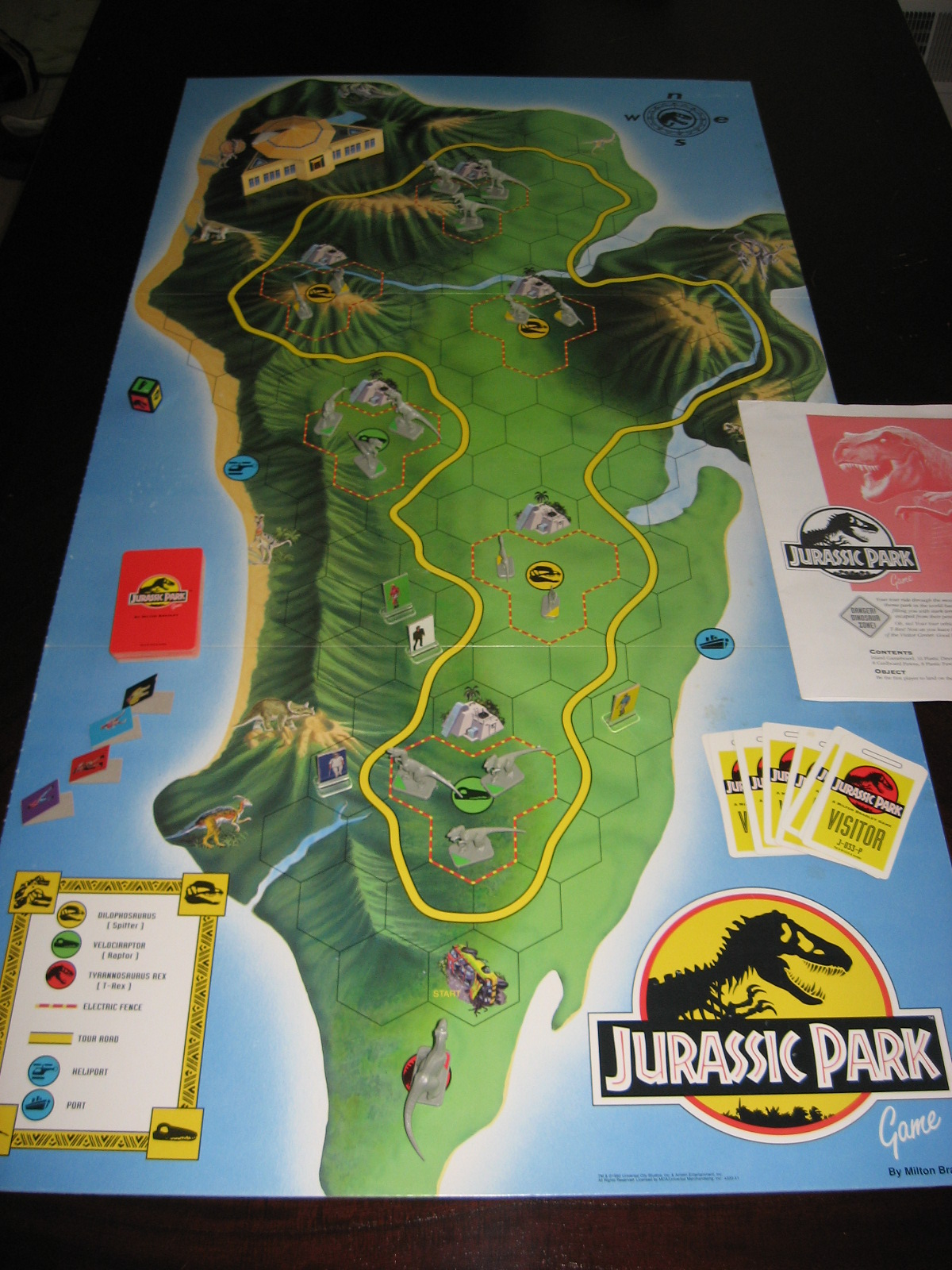 Jurassic Park A Board Game A Day