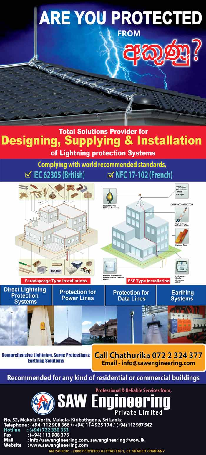 SAW Engineering | Are You Protected from Lightning.