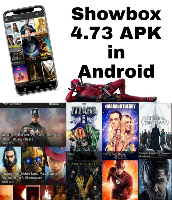 Showbox APK 4.73 for Android