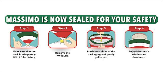Roti Sandwic Massimo Kegemaran Anda, Kini Dengan Pengedap Keselamatan Tamper-Evident untuk Ketenangan Fikiran Tanpa Keraguan!