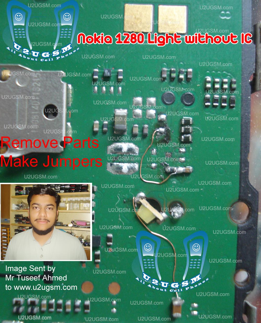 Nokia 103 Light Without Ic Display Keypad Led 100 Tested