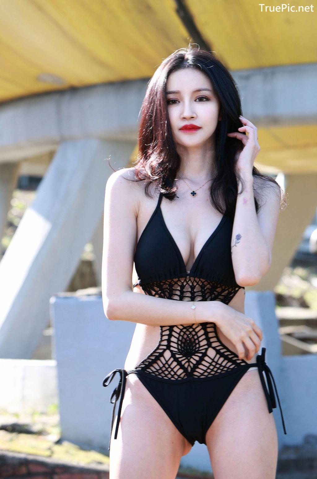 Image-Taiwanese-Model-艾薉-Long-Legs-And-Lovely-Bikini-Girl-TruePic.net- Picture-7