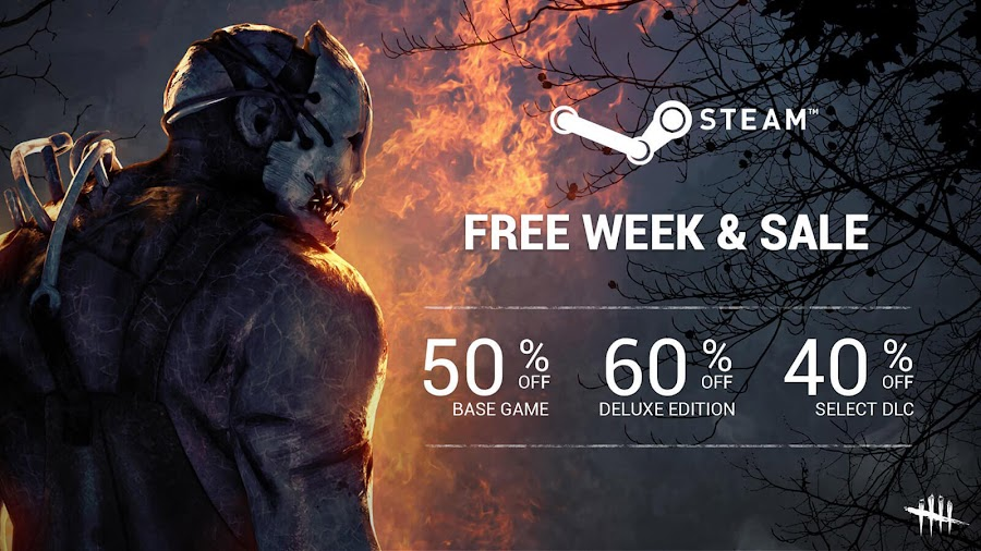 dead by daylight steam sale pc version deluxe edition dlc september 23