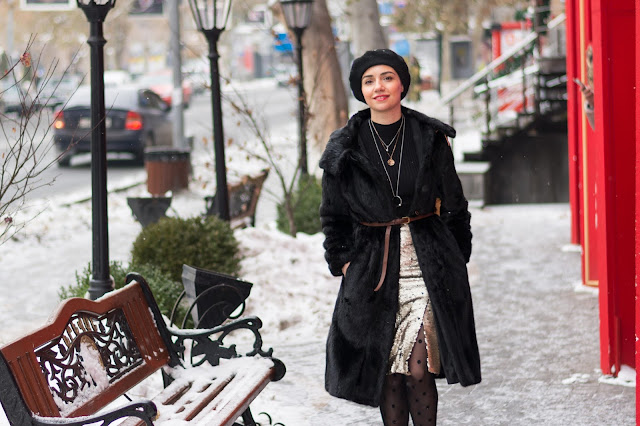 Армения, Ереван, стритстайл, мода, блогер, Winter, Street Style,Yerevan, Armenia,  Fashion, Look, Blogger, bag Tous, parka Asos, Monki, Jewel Mania, Nataniel Dobryanskaya, Ереван, Армения, стритстайл, мода, Анна Мелкумян, Anna Melkumian, Sokolov, Sophie Hulme, Calzedonia, шуба из норки