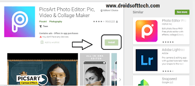 Download Picsart On PC