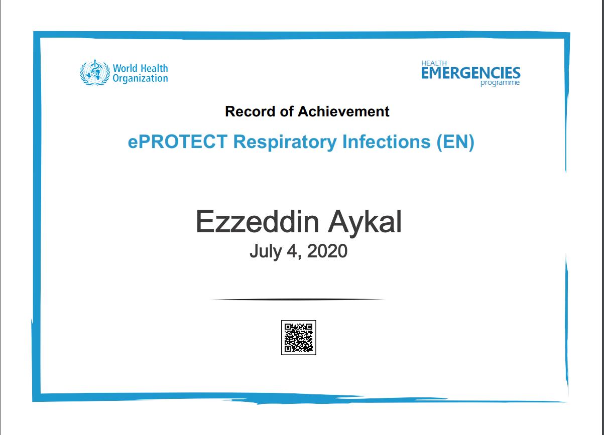 ePROTECT Respiratory Infections