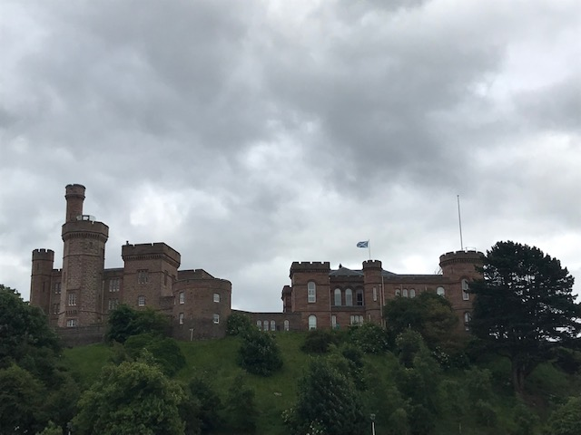 Inverness, Castle, Scotland