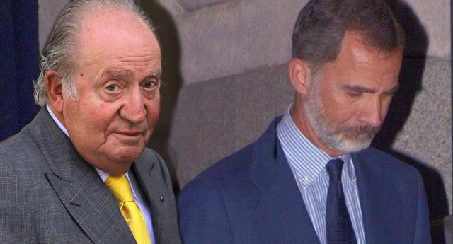 """La petición del rey emérito a su hijo: """"Felipe, coño, divórciate"""""""