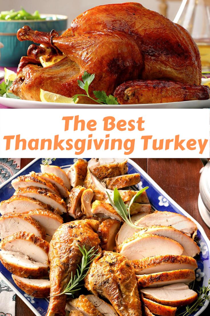 The Best Thanksgiving Turkey Recipe
