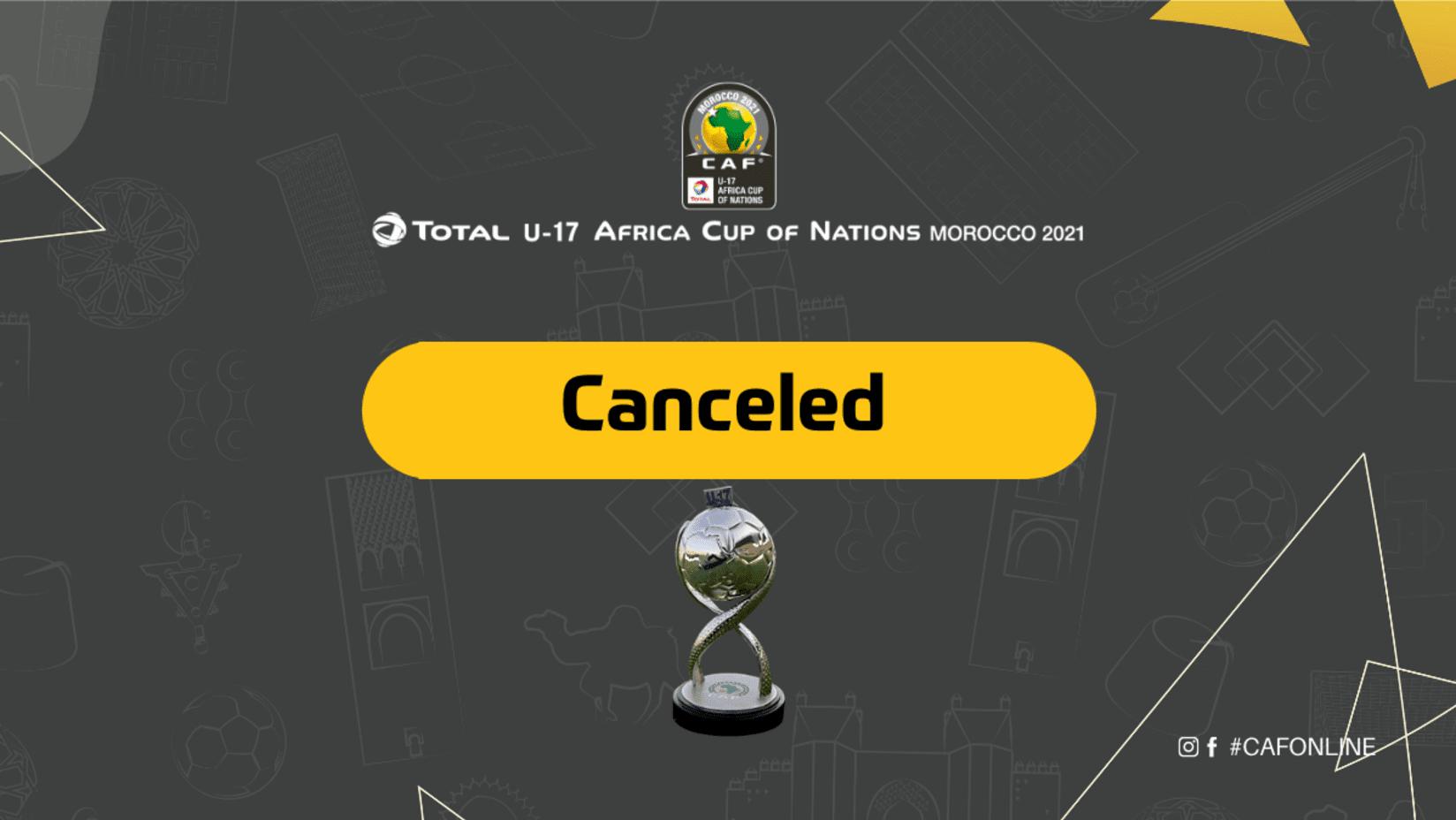 الكونفدرالية الإفريقية لكرة القدم تلغي كأس إفريقيا لأقل من 17 سنة