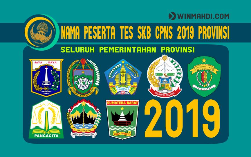 NAMA PESERTA TES SKB CPNS 2019