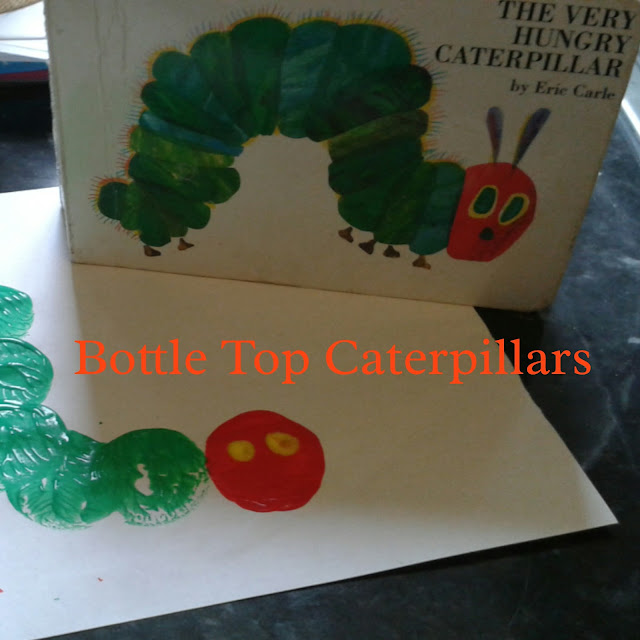 The very hungry caterpillar craft,