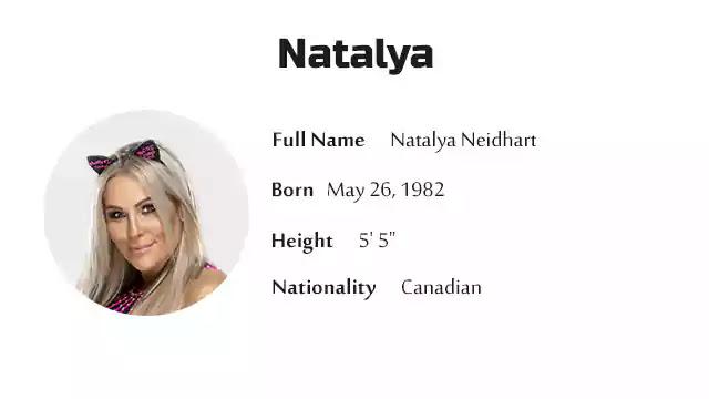 Natalya Neidhart Biography History Net Worth And More