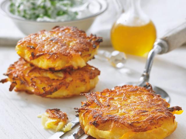 Kartoffelpuffer – Bánh rán khoai tây