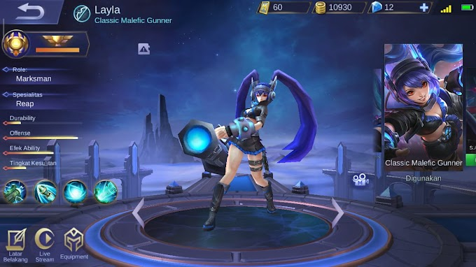 Guide Layla dan Build Layla Tersakit Mobile Legends Auto Savage