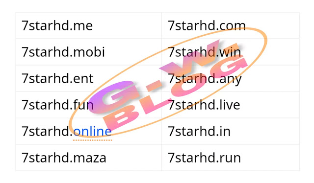 7StarHD 2020 - New 300MB Bollywood, South Dubbed Movies Download