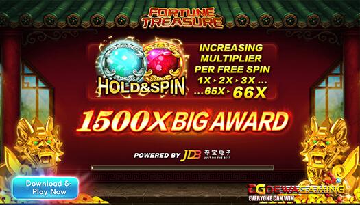 Situs Fafaslot Fortune Treasure JDB1688