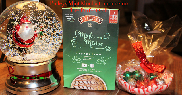 Baileys Mint Mocha Cappuccino the perfect gift, gift, gift guide, coffee, coffee lover, keurig