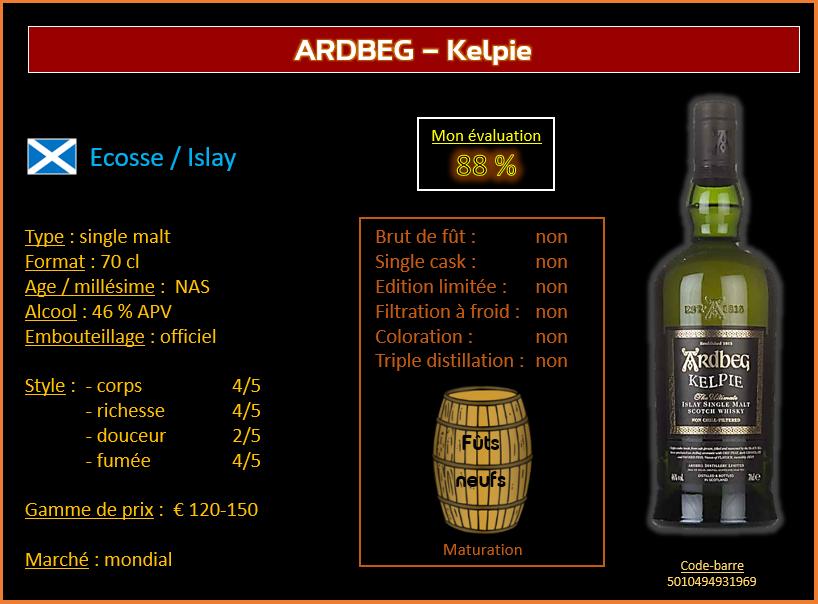 Review #614 : Ardbeg - Kelpie