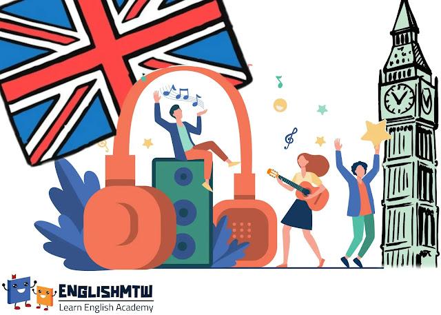 الإنجليزية عن طريق الأغاني