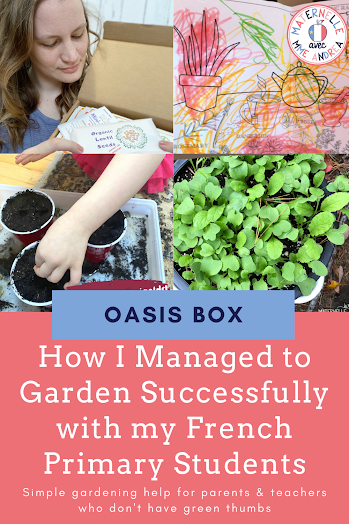 Teacher or a parent looking for some help with gardening? This blog post explains what helped one NOT-green-thumbed parent/teacher turn her plants lessons into successes!