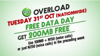 Glo free data day 31st