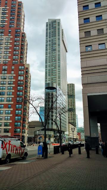 Джерсі-Сіті. Хмарочос. (Skyscraper. Jersey city, NJ)