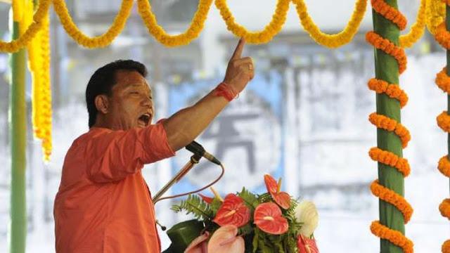 Soon, Gurung public meeting in Siliguri