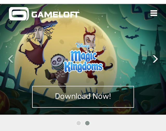 Gameloft Website Lock Shock Barrel Disney Magic Kingdoms