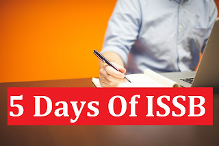 5 Days Of ISSB
