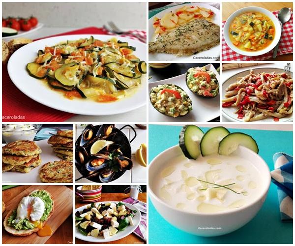 10 recetas de dieta para cenar fáciles y deliciosas