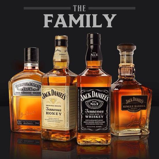 Jack Daniel's family 2015