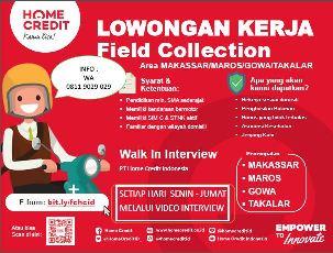 Lowongan Kerja Field Collection di PT Home Credit Indonesia