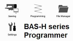 Hướng dẫn sử dụng phầm mềm, lập trình dòng BAS-H series Brother