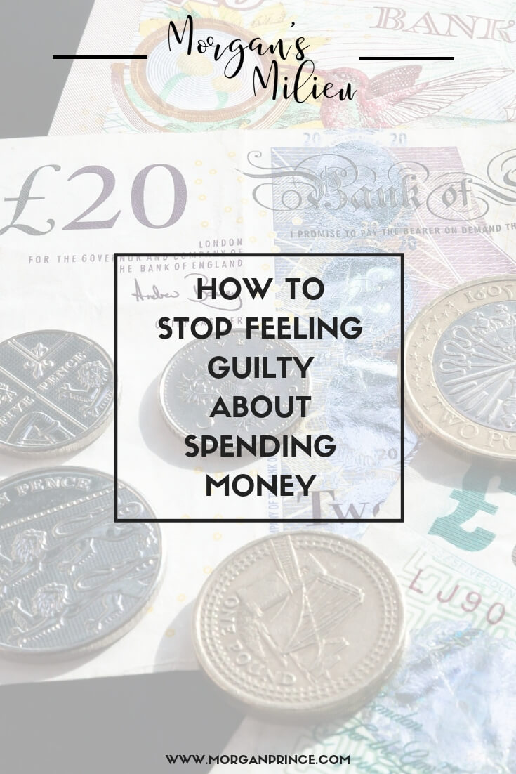 How To Stop Feeling Guilty About Spending Money On Yourself | Making small changes to your finances you could feel less guilty about spending money on yourself.