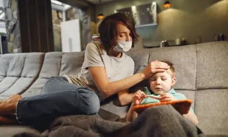 عدوى الهربس الفموي عند الأطفال والرضع