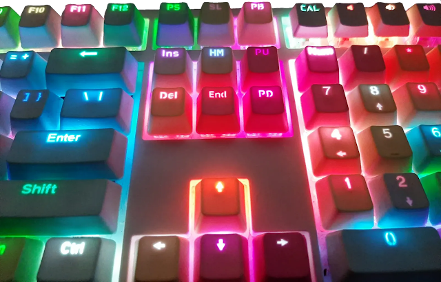 what are rgb led mechanical keyboards