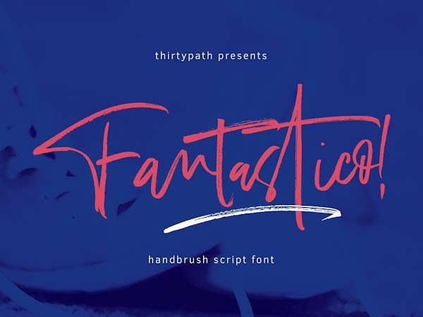Fantastico Hand Brush Font Free Download