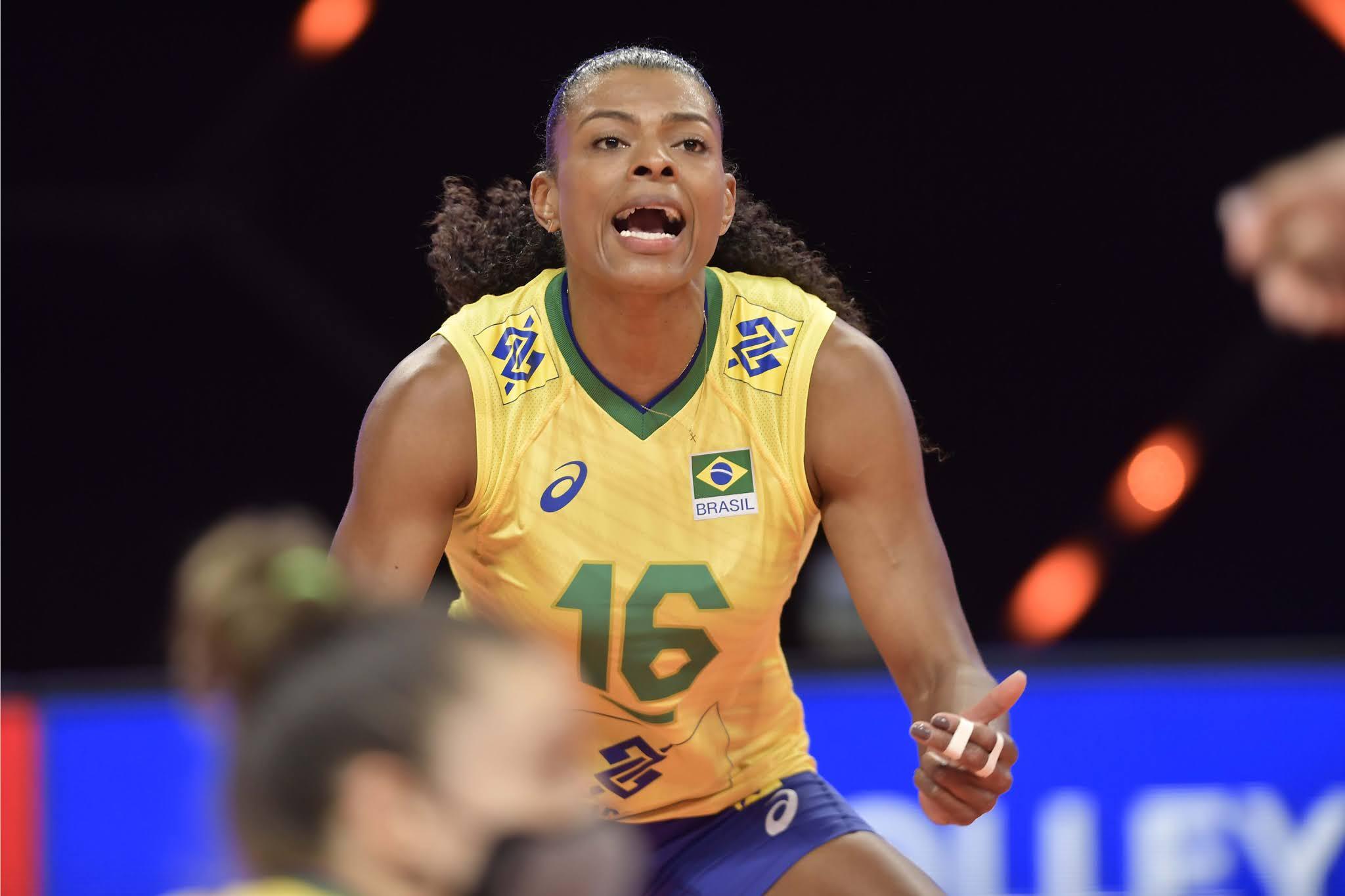 Fernanda Garay está de volta à seleção brasileira de vôlei