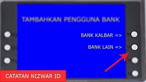 Menu Jenis Bank Kalbar - Catatan Nizwar ID