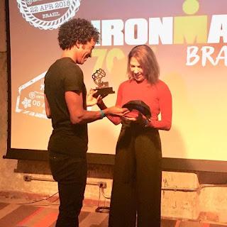 É de Rio Preto a número 1 do Ironman
