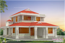 Kerala Style Beautiful Home In 2250 Sq-ft House Design Plans