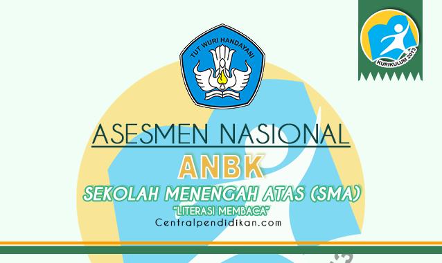 Contoh Soal ANBK Literasi SMA 2021