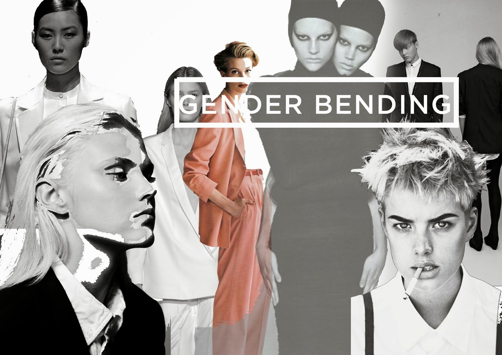 Politics Of Fashion An Androgynous Future Concept Board