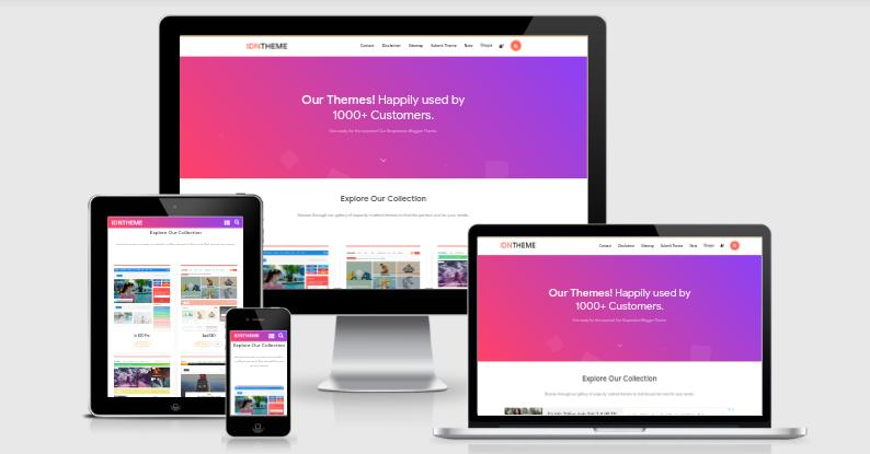 Idntheme Blogger Template Free Download